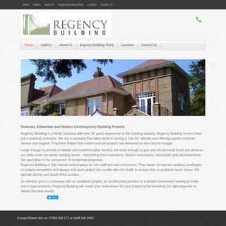 Regency Building Surrey