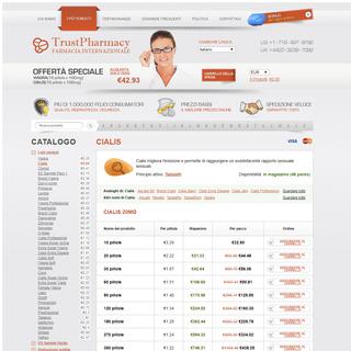 Comprare Cialis Generico senza ricetta. Acquistare Cialis 20 mg, 10 mg, 40 mg.Compra Cialis Italia.