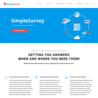 SimpleSurvey- Online Survey Software and Form Tool