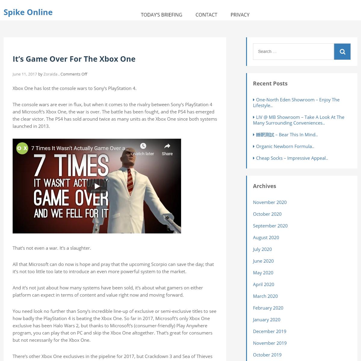 Spike Online -