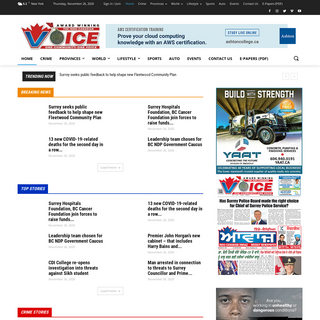 Indo-Canadian Voice - South Asian Newspaper BC