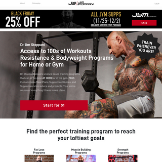 Jim Stoppani, Ph.D. - Using REAL science to design REAL programs for UNREAL RESULTS