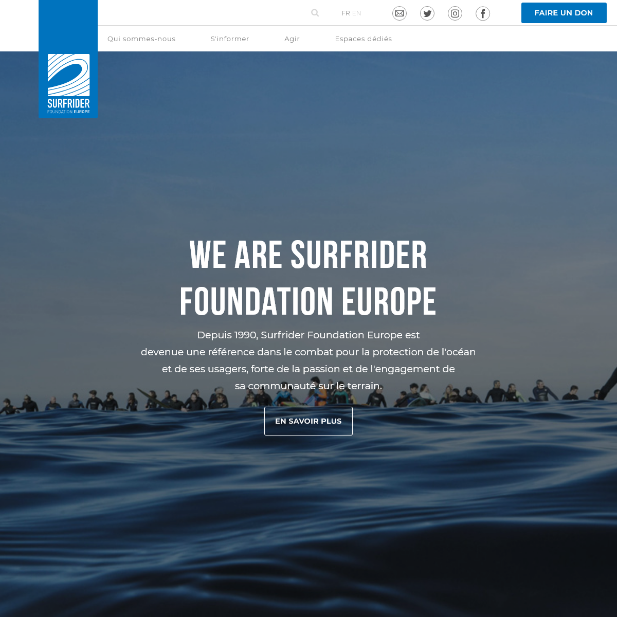 We are Surfrider Foundation Europe - Surfrider Foundation Europe
