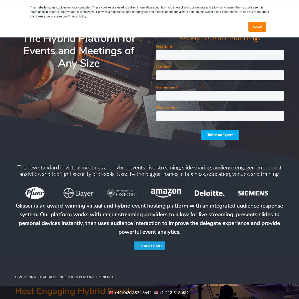 The Hybrid Events Platform for Meetings of Any Size - Glisser