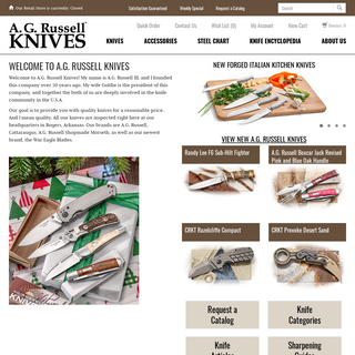 A. G. Russell- Quality Folding & Fixed Blade Knives & Accessories - AGRussell.com