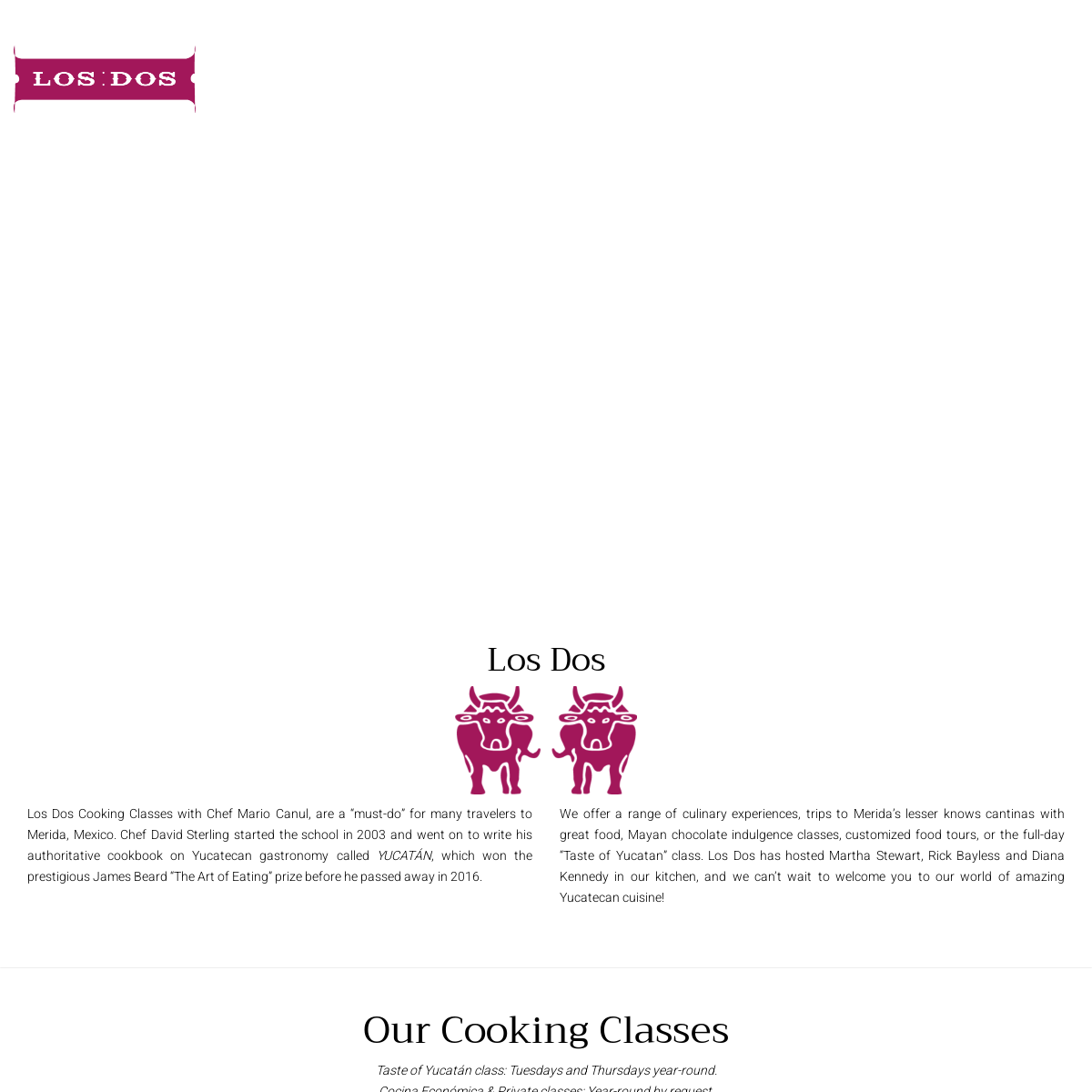 Los Dos – Cooking Classes in Merida, Mexico