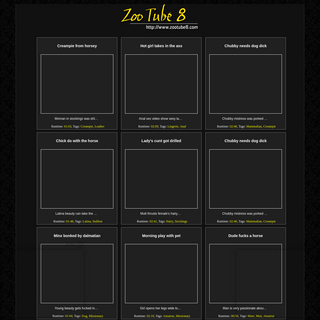 A complete backup of zootube8.com
