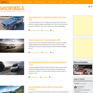 A complete backup of gaywheels.com