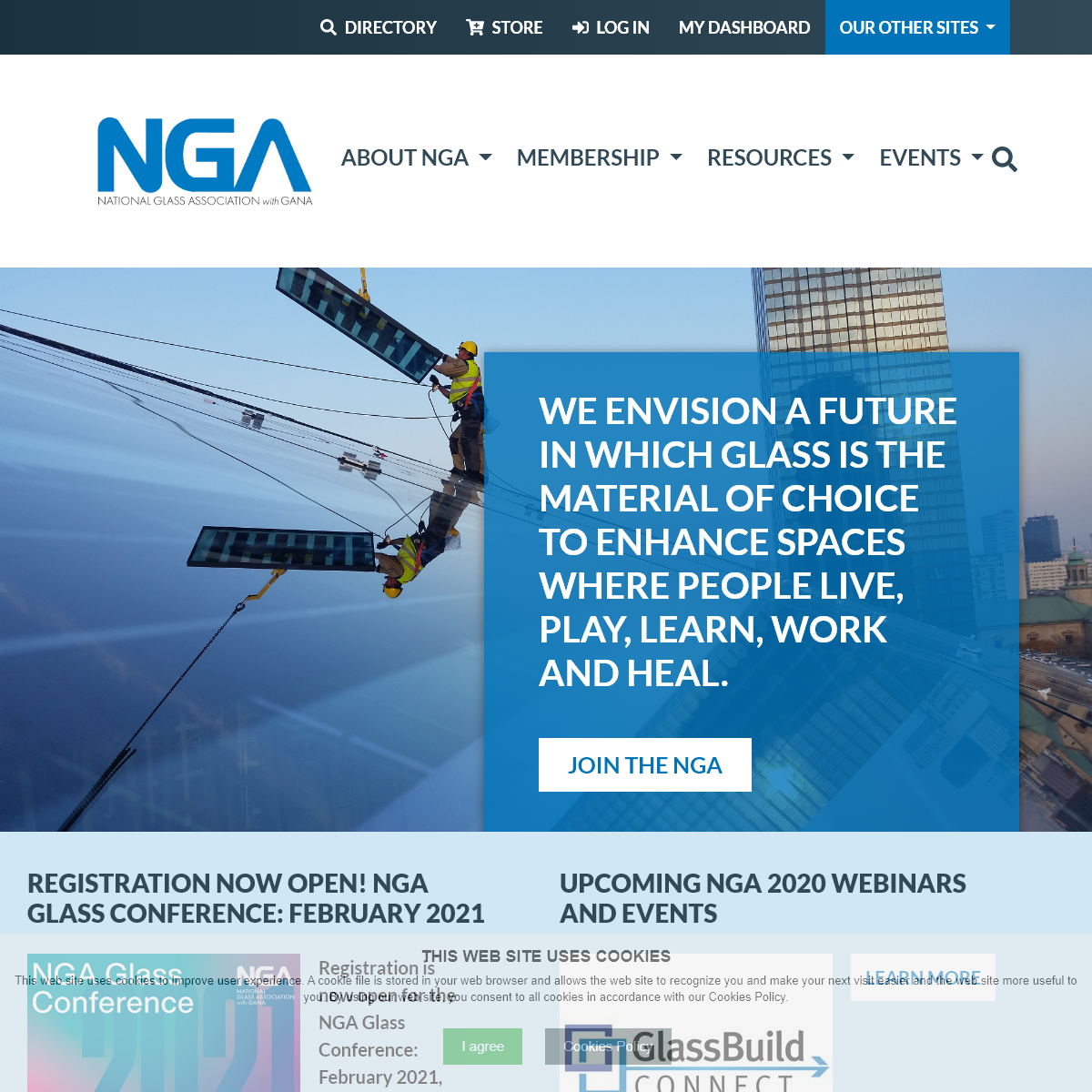 Homepage - National Glass Association