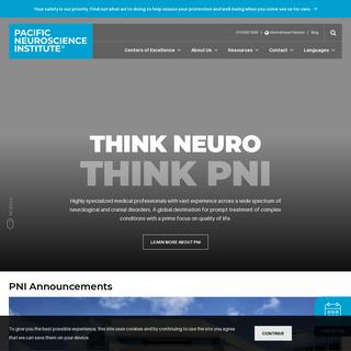 Pacific Neuroscience Institute - Santa Monica, CA