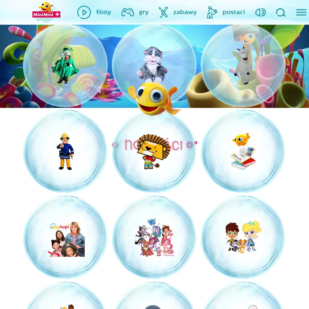 MiniMini+ edukacyjne gry i zabawy dla przedszkolaków - MiniMini+