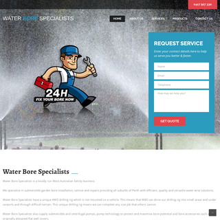 Water Bore Specialists