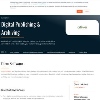 Olive Software - Ignite Technologies