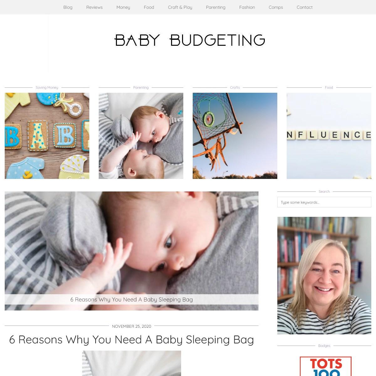 Baby Budgeting - money saving tips for parents