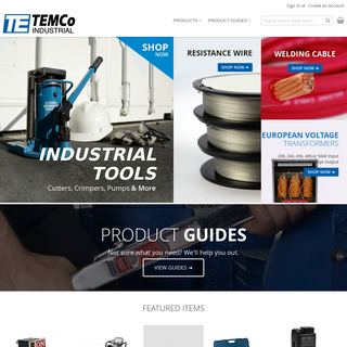 TEMCo Industrial Store Home