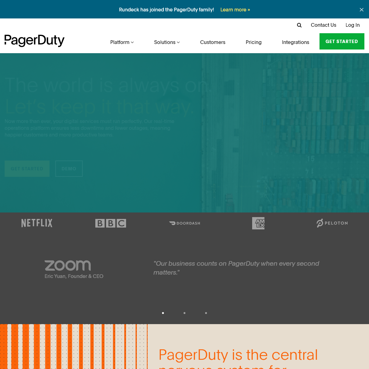 PagerDuty - Real-Time Operations - Incident Response - On-Call - PagerDuty