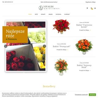 Kwiaciarnia Vivaldi w Poznaniu