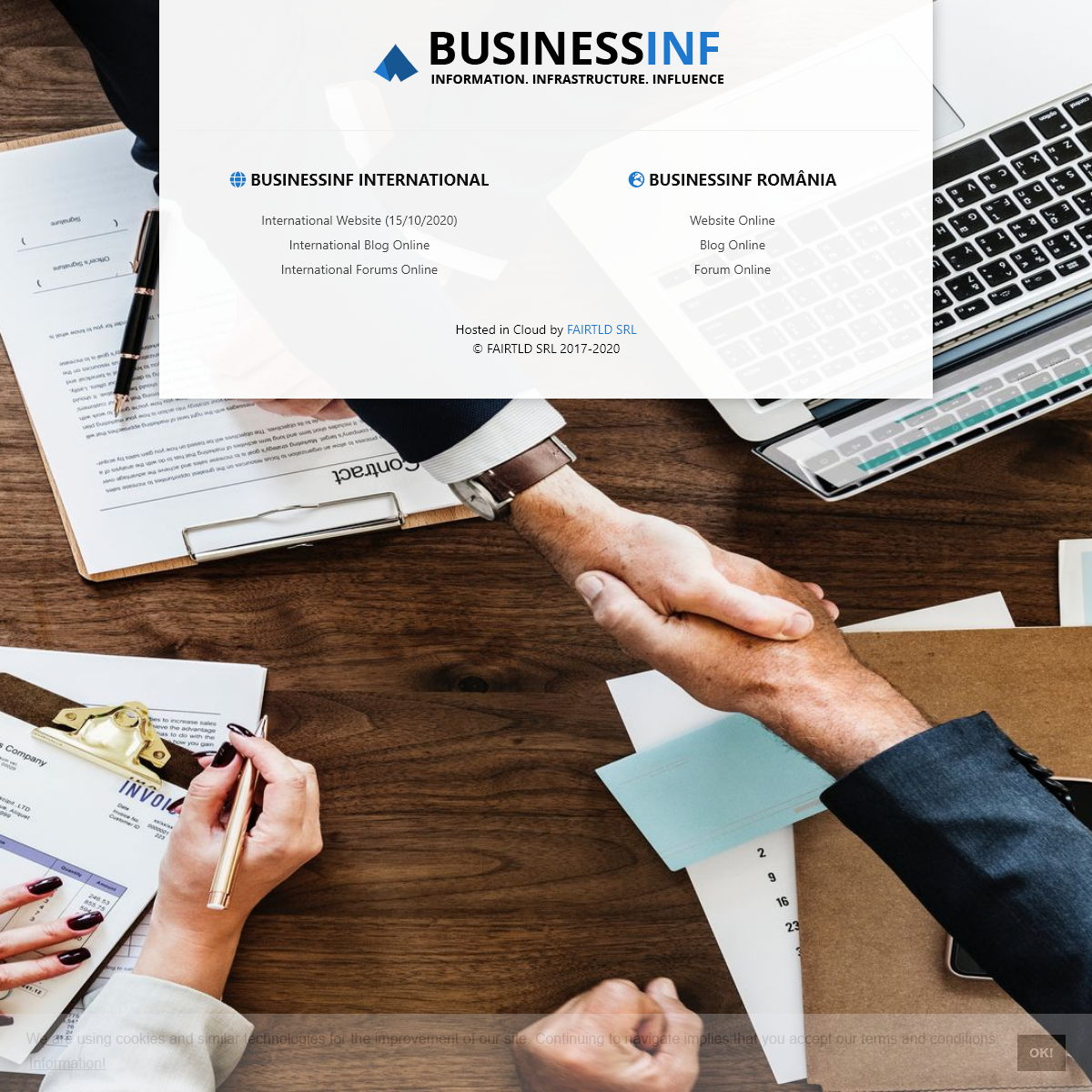 BusinessINF- Official Portal for Our Websites, Business Community Forums and Blogs