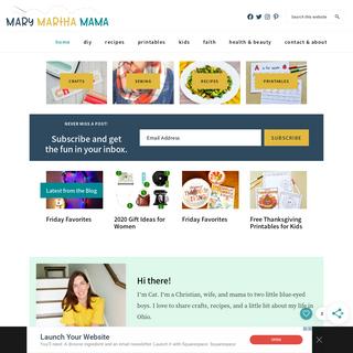 Mary Martha Mama