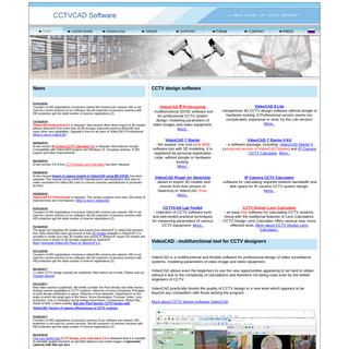 CCTV Design Software - CCTVCAD