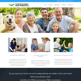 Touched By Angels Home Healthcare II - Tagline