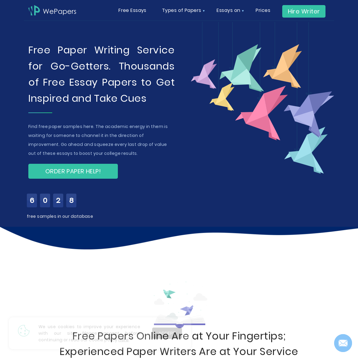 Paper Writer Free Knowledge Base – Free Papers Examples to Follow - WePapers