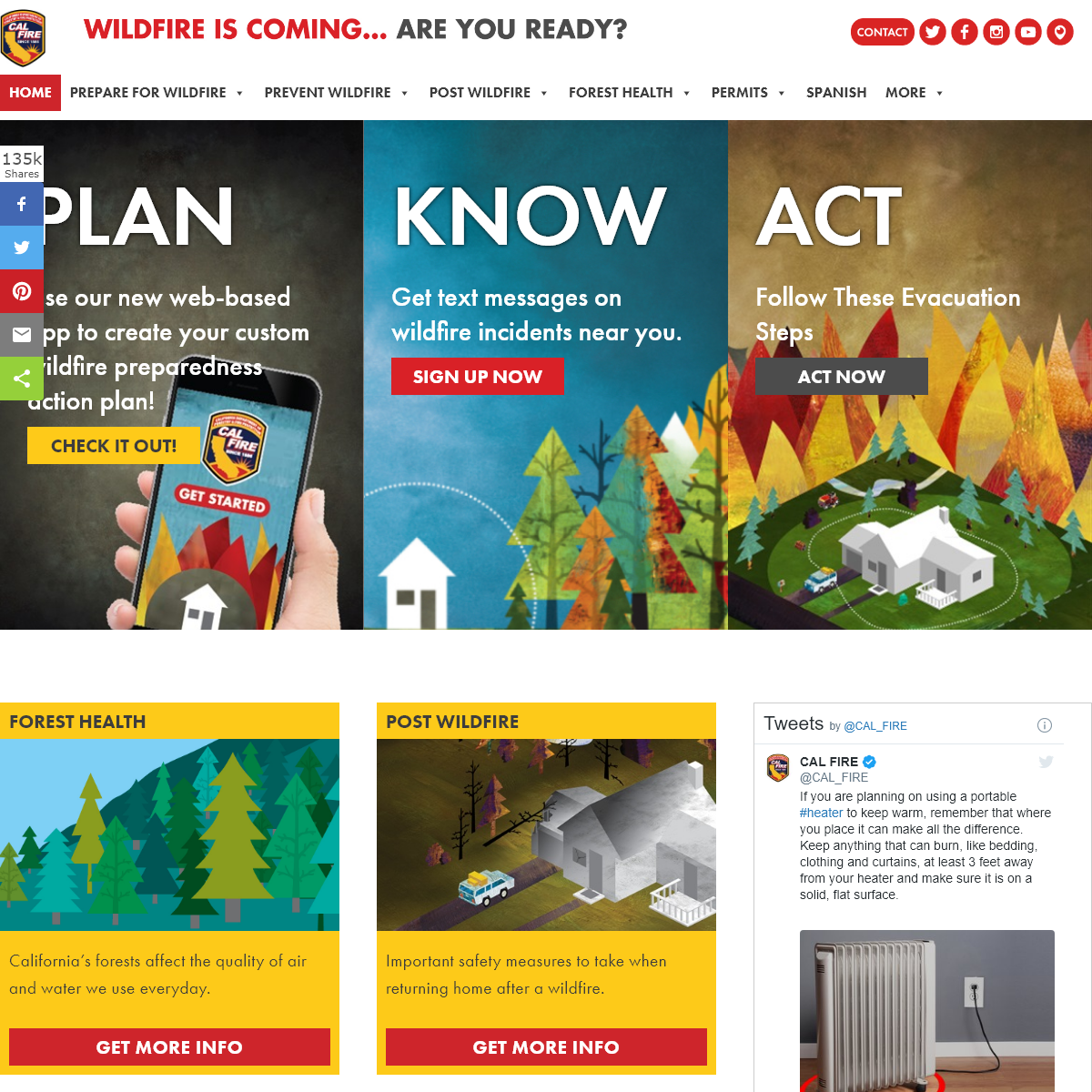Ready for Wildfire – Wildfire is coming… are you ready-