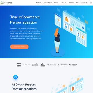 Ecommerce Personalization & Conversion Optimization