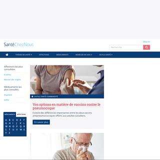 Information canadienne sur la santé, les maladies et les médicaments - SanteChezNous.com