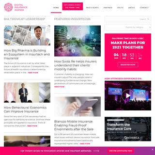 Digital Insurance Agenda - Accelerate Innovation in Insurance