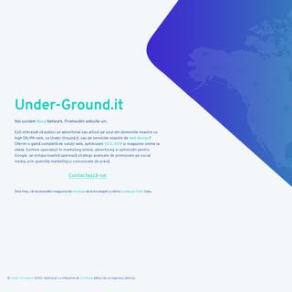 Under-Ground.it - under-ground online