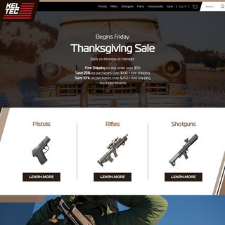 Innovative Quality Firearms Manufacturer, Parts & Accessories - KelTec