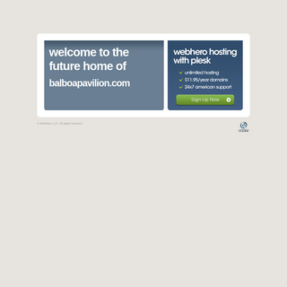 Future Home of a New Site with WebHero