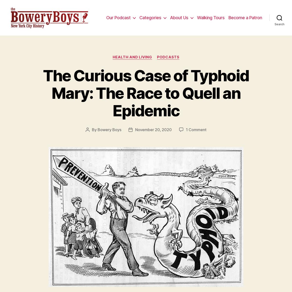 The Bowery Boys- New York City History -