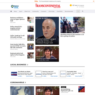 Port Augusta news, sport and weather - The Transcontinental - Port Augusta, SA