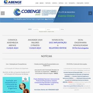 ABENGE - Associação Brasileira de Educação em Engenharia