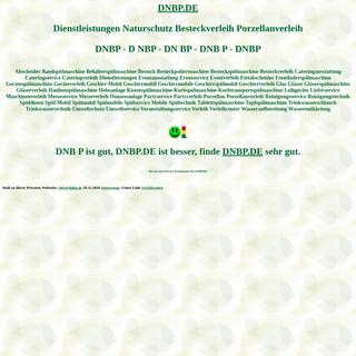 dnbp Dienstleistungen Naturschutz Besteckverleih Porzellanverleih Spülmobil Verleih Geschirrmobil Mieten