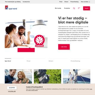 Danmarks mest personlige bank ← Spar Nord