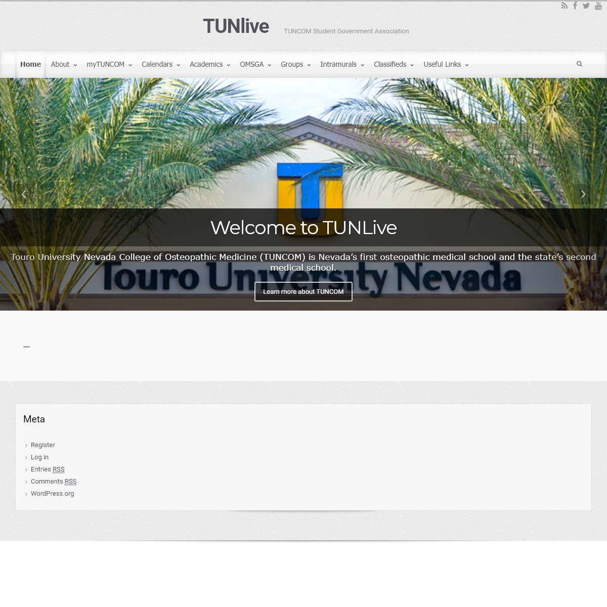 TUNlive – TUNCOM Student Government Association