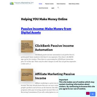Helping YOU Make Money Online - Yenom Marketing Inc.