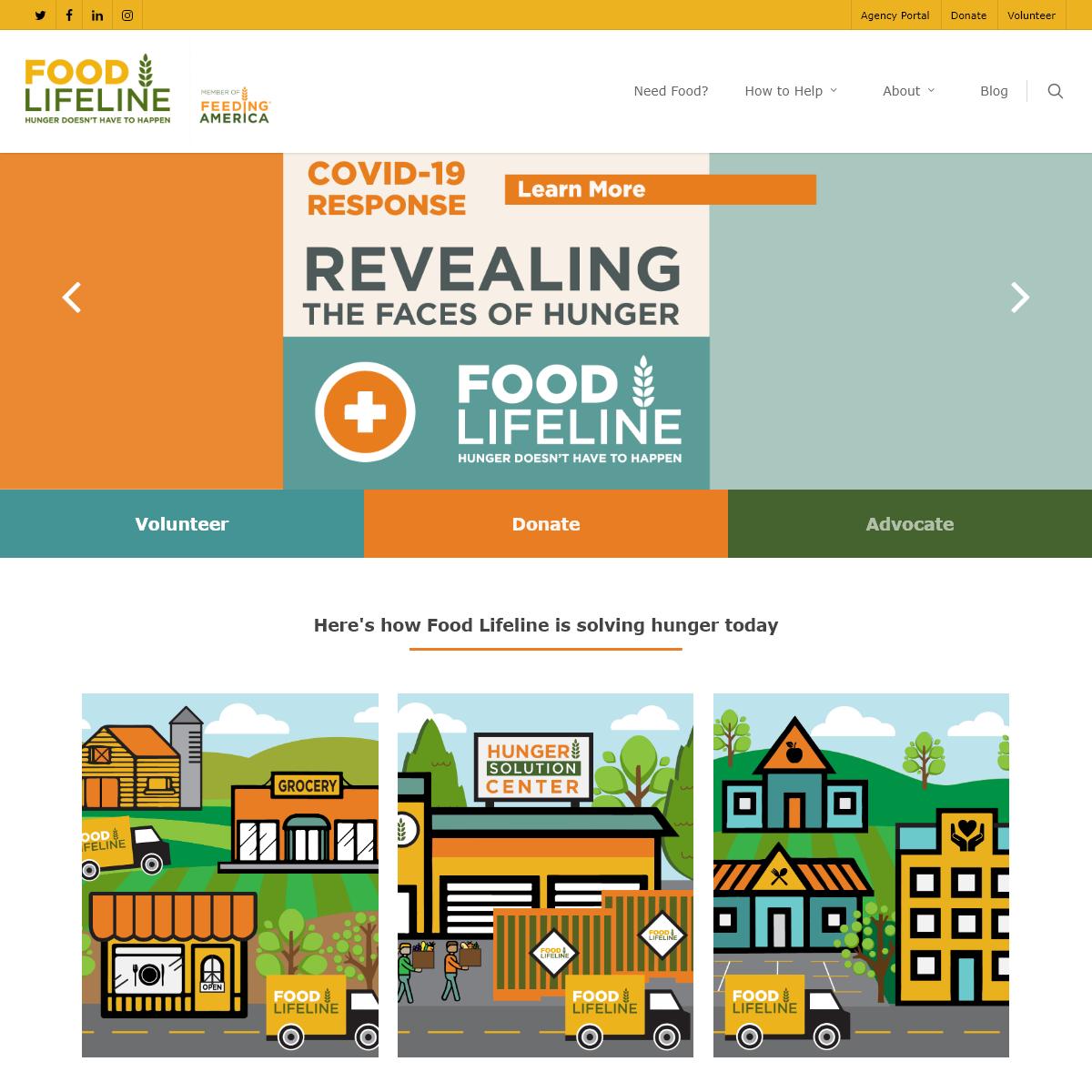 Home - Food Lifeline