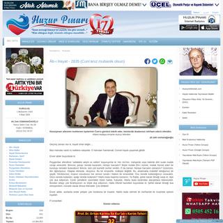 Huzur Pınarı - Ana Sayfa