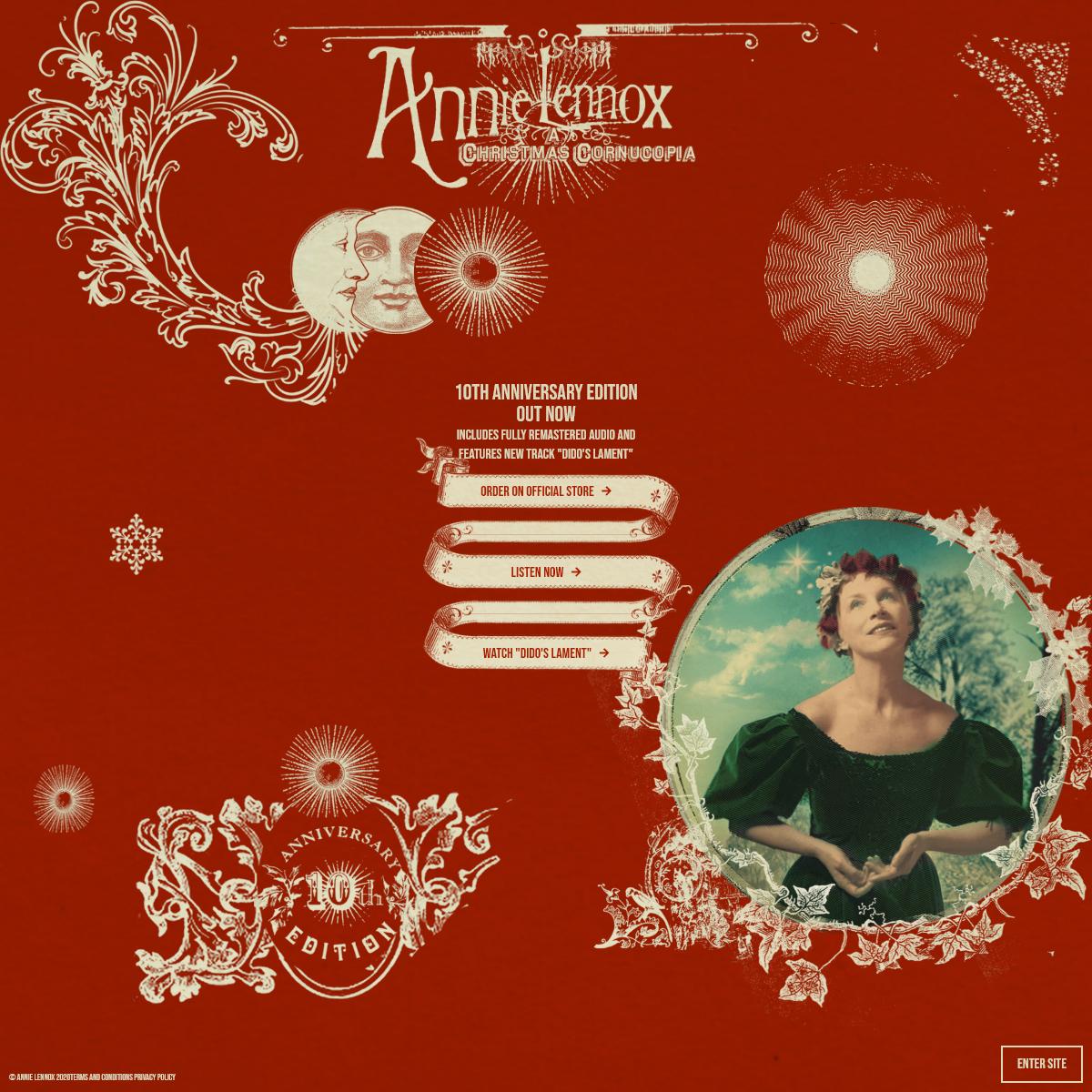Annie Lennox - A Christmas Cornucopia- 10th Anniversary Edition