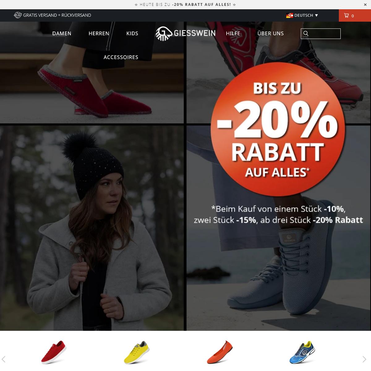 Merino Woll-Schuhe, Runners und Sneakers - Giesswein® Offizieller Shop