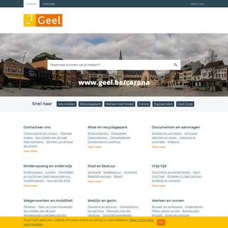 Startpagina - Stad Geel