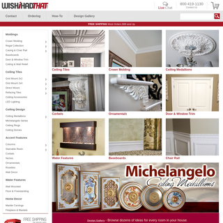 Decor Superstore - Crown Molding, Ceiling Medallions, Baseboards and More