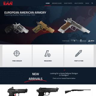 Home Page - EAA Corp Main