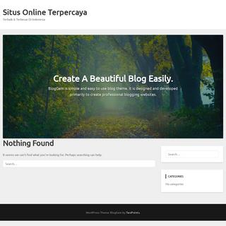 Situs Online Terpercaya - Terbaik & Terbesar Di Indonesia