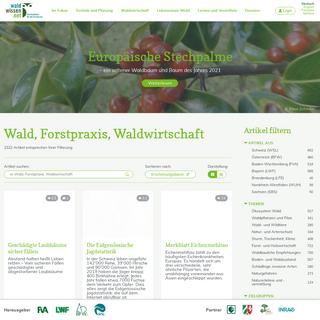 Wald, Forstpraxis, Waldwirtschaft - waldwissen.net