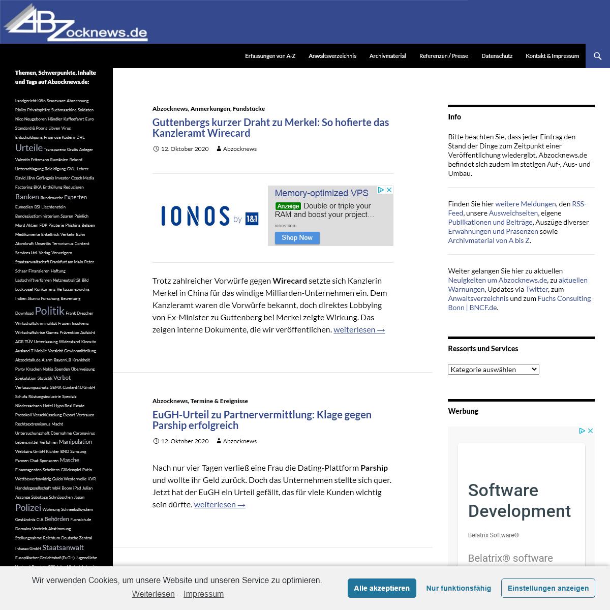 Abzocknews.de - Ihr unabhängiges Informationsportal